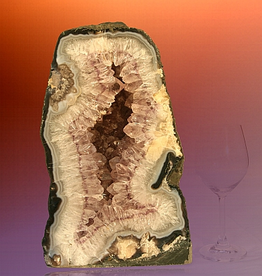 Ametystová geoda