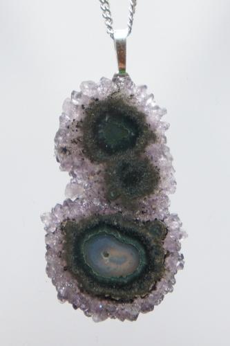 Pendant Amethyst Flower