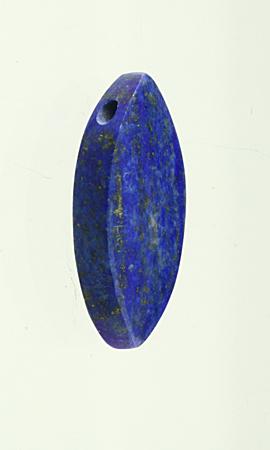Lapis Lazuli,vrtaný na koženém řemínku