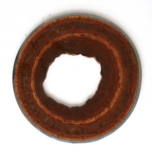 Aragonit Karlsbader Rohr, poliert