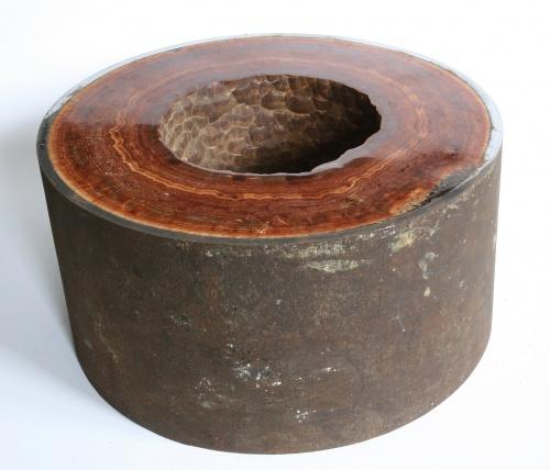 Carlsbad Aragonite tube, polished