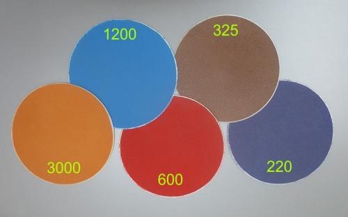 Diamantschleifpad 200 mm, 325 Körnung