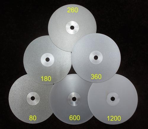 Diamantschleifteller 150 mm 80 Körnung
