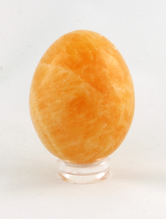 Egg - orange calcite