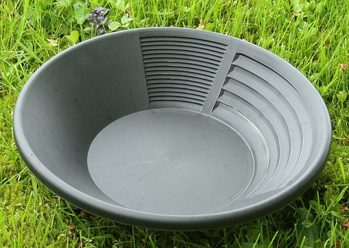 Estwing Goldwaschpfanne, Kunststoff 25 cm