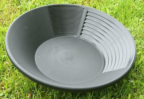 Estwing Goldwaschpfanne, Kunststoff 35 cm