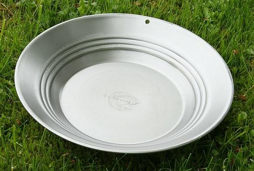 Estwing Goldwaschpfanne, Stahl 30 cm