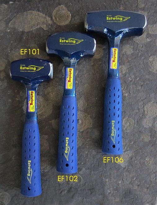 Crack Hammer 1,5kg ESTWING - vinyl  Grip