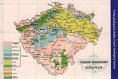 Geol. map Bohemia