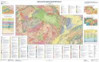 Geological Map of the Czech Republic 1 : 500 000, unfolded