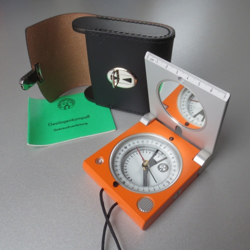 Geological Compass - Freiberg version with mirror