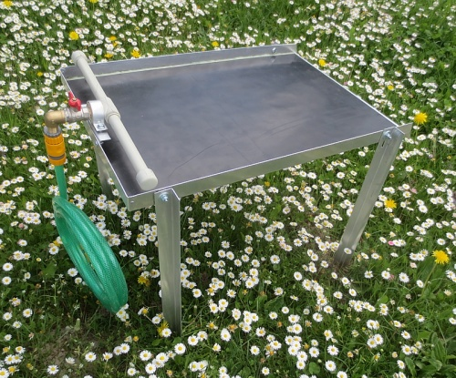 Miller Table, Fine Gold Recovery Water Table