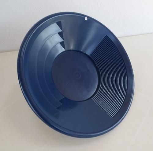 Modrá, plastová rýžovací pánev 30 cm