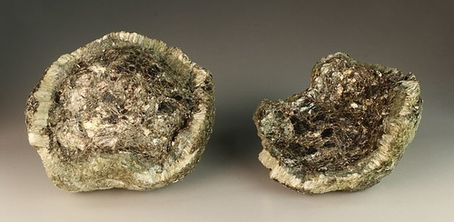 Hermanov ball, both parts, with Anthophyllite, Phlogopite and Chlorite