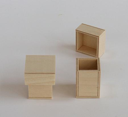 holzschachtel mit deckel 36x36 mm topgeo. Black Bedroom Furniture Sets. Home Design Ideas