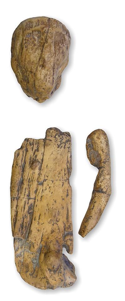 Male statuette, grave Brno 2 (cast)