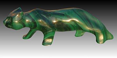 Malachit Jaguar