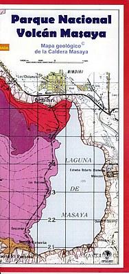 Mapa geológico de la Caldera Masaya [Nicaragua] (španělsky/anglicky)