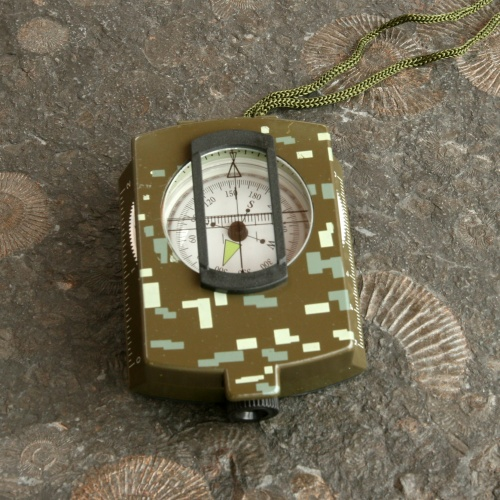 Military Prismatic Sighting Compass