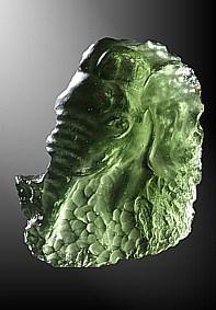 Moldavite, Elephant head