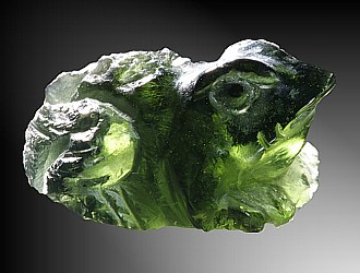 Moldavite, Frog