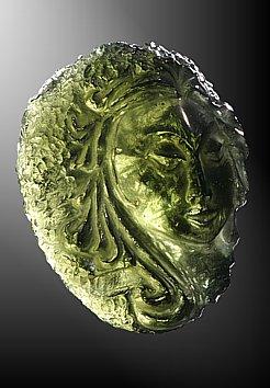 Moldavite, girl