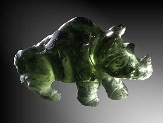 Moldavite, Rhinoceros