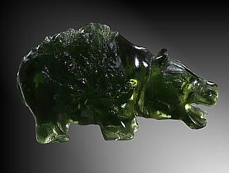Moldavite, hippo