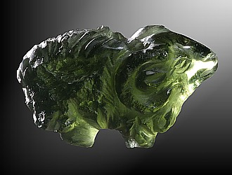Moldavite, Wether