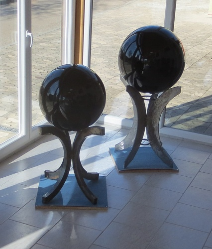 Obsidian sphere 53cm