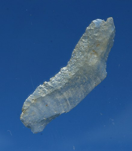 Prehistoric artifact desert glass