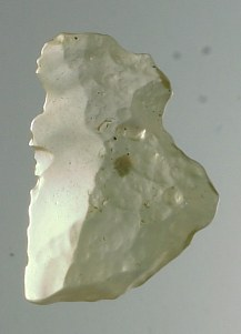 Prehistoric artifact desert glass