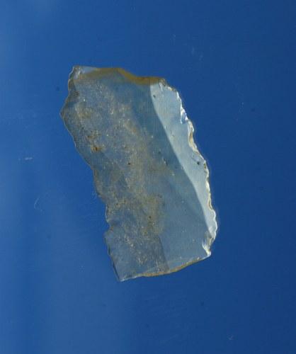 Artifact desert glass