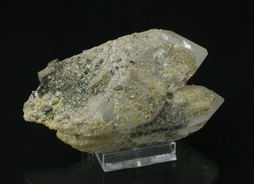 Quartz with Arsenopyrite