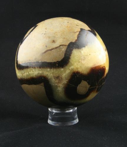Septárie, sedimentární kalcitová geoda, koule