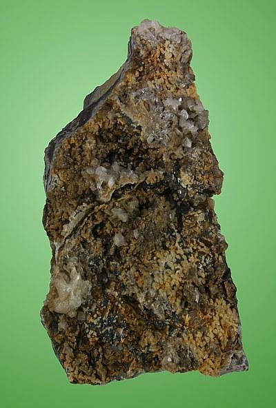 Sfalerite, Siderite, Calcite