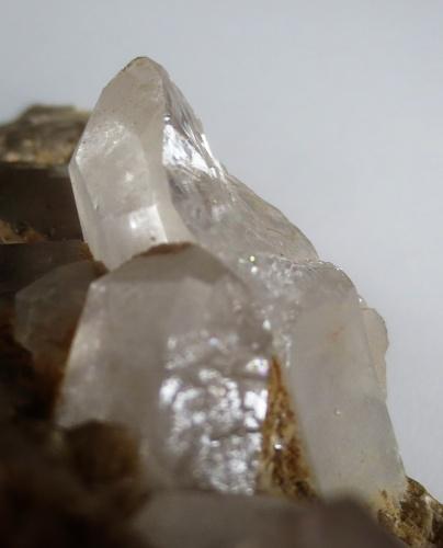 Siderite and quartz