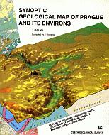 Synoptic geological map of Prague and its environs 1:100.000 (english)