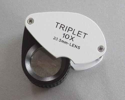 Triplett-Einschlaglupe 10-fach