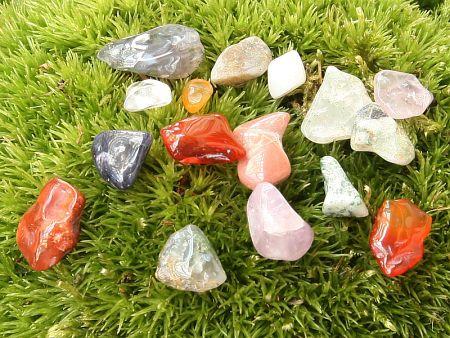 Barevný MIX, tromlované kameny XS 0,5kg